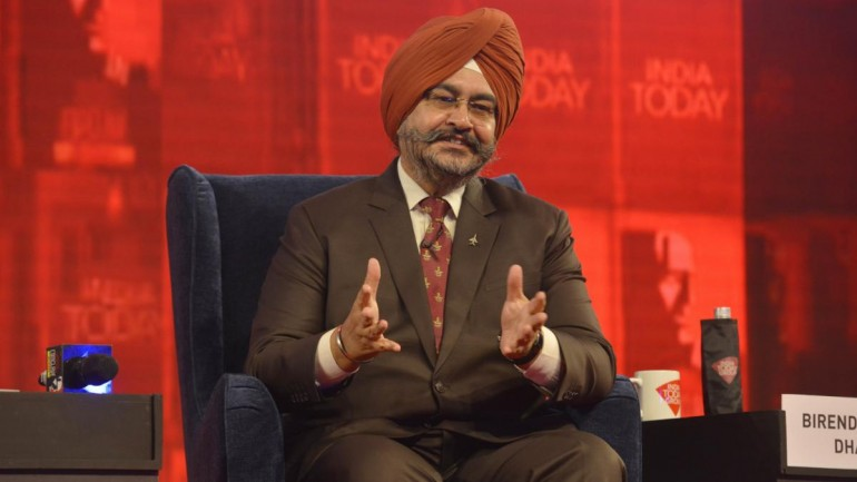 IAF Air Chief BS Dhanoa speaking at India Today Conclave Mumbai 2019.