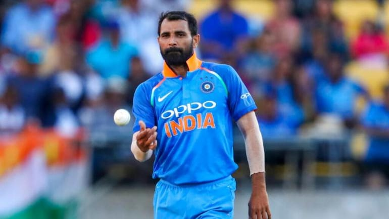 """Mohammed Shami said """" Ball hasn't done much, we hit the right length"""""""