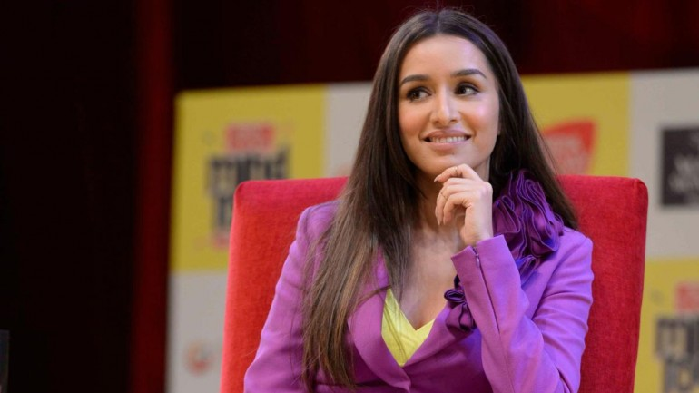 Shraddha Kapoor at India Today Mind Rocks 2019.