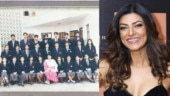 Sushmita Sen is unrecognisable in old school pic, calls herself introvert and naive