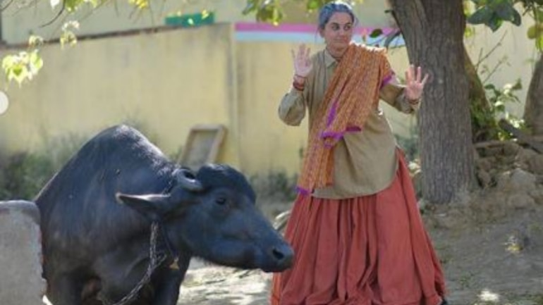 Taapsee Pannu was playing with a buffalo on Saand Ki Aankh set.