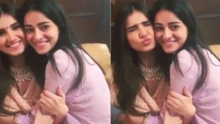 Ananya Panday with Tara Sutaria