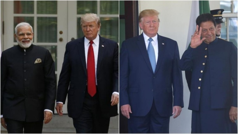Donald Trump, Narendra Modi, Imran Khan