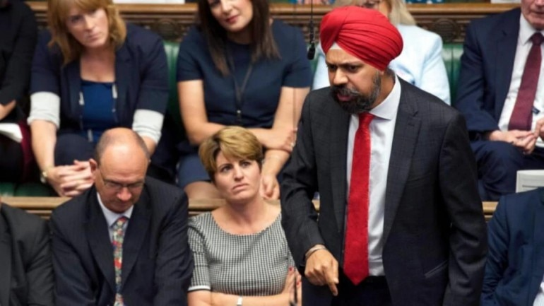 How UK Sikh MP voiced his faith's 15th-century philosophy in a minute-and-a-half video