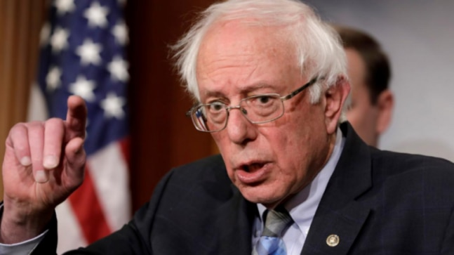 Deeply concerned about situation in Kashmir, says US Senator Bernie Sanders