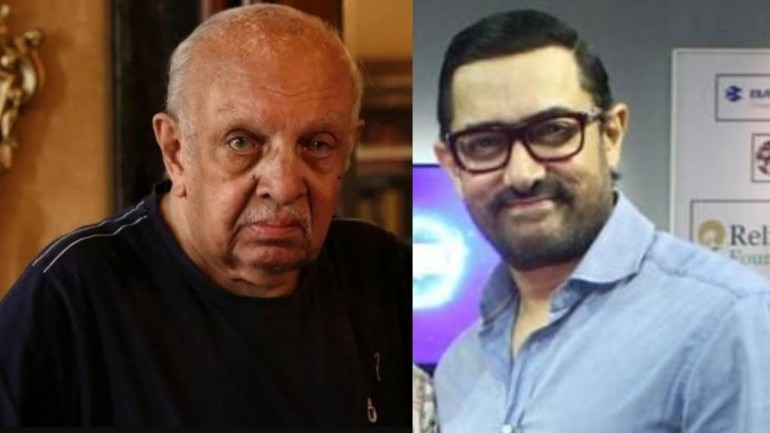 Aamir Khan took to Twitter to announce a book project on music composer Vanraj Bhatia.