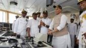 Rajnath Singh commissions Indian Coast Guard offshore patrol vessel Varaha