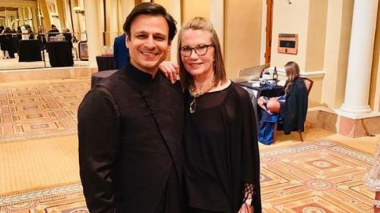 Vivek Oberoi's 'fanboy moment' with Maud Adams