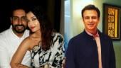Abhishek Bachchan and Vivek Oberoi hug it out months after Aishwarya Rai meme row. Viral video