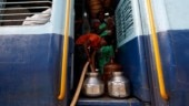 The children who take a train to collect water