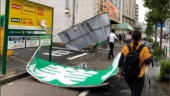 Woman killed as strong typhoon lashes Tokyo area, cutting power and transport