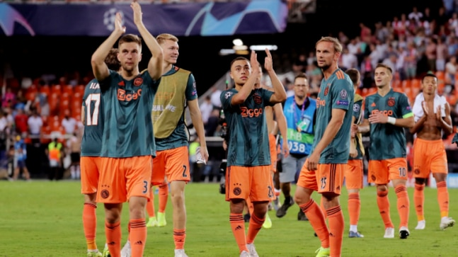 Ajax Amsterdam fans barred from attending Champions League ...