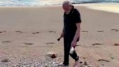 Swachh Bharat meets Fit India: PM Modi uses plogging to pick trash at Mamallapuram beach during summit with Xi