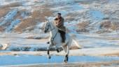 Kim Jong Un rides horse on sacred peak, vows to fight US sanctions