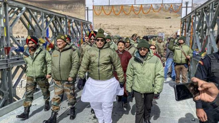 Armed forces will keep giving befitting reply to Pakistan until it stops infiltration: Rajnath Singh