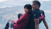 Milind Soman and wife Ankita kiss and dance at Rohtang in new video. Her comment wins the day