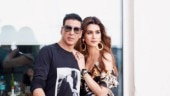 Housefull 4: Kriti Sanon twins in black with Akshay Kumar. Punar janam telepathy?