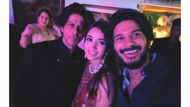 Dulquer Salmaan and wife Amal Sufia are star-struck seeing SRK and Amitabh Bachchan. See viral pics