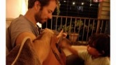 Kalki Koechlin shares pic of boyfriend playing guitar with baby: Daddy vibes already