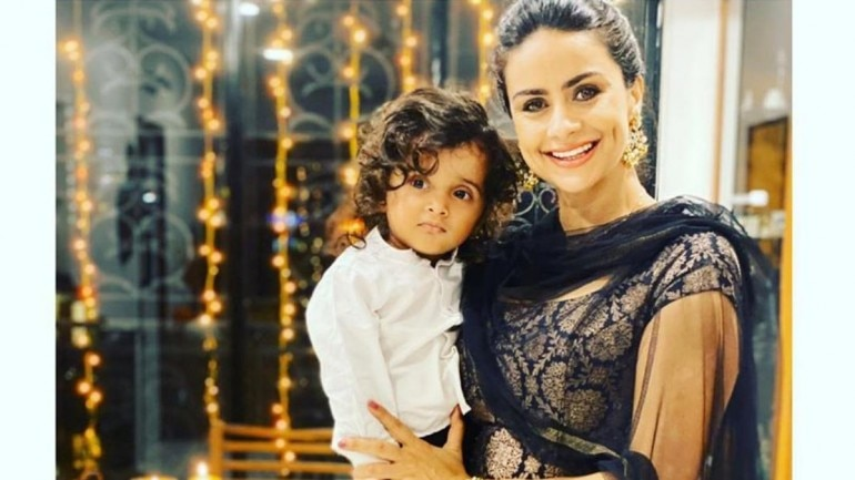 Gul Panag wears 14-year-old brocade suit for Diwali