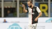 Serie A: Juventus return to the top after Gonzalo Higuain seals win over Inter Milan