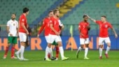 Euro 2020 qualifiers: England thrash Bulgaria despite game being halted over racist abuse