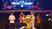Aroon Purie, Kiren Rijiju unveil Free Fire India Today League trophy