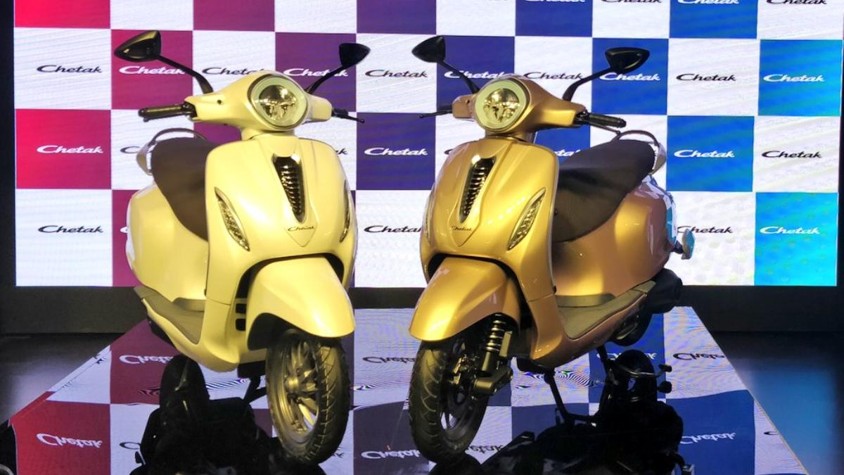 Best Electric Scooter 2020.Bajaj Chetak Electric Scooter Unveiled In India Retail