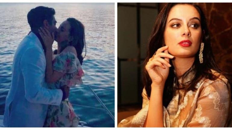 Evelyn Sharma gets engaged to Tushaan Bhindi.