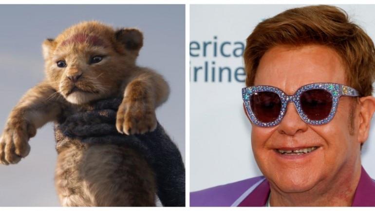 Elton John slammed the Lion King remake.