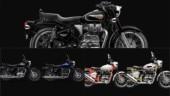 Royal Enfield Bullet 350 KS, 350 ES, 500, Trials Works Replica 350, Trials Works Replica 500: Colour options