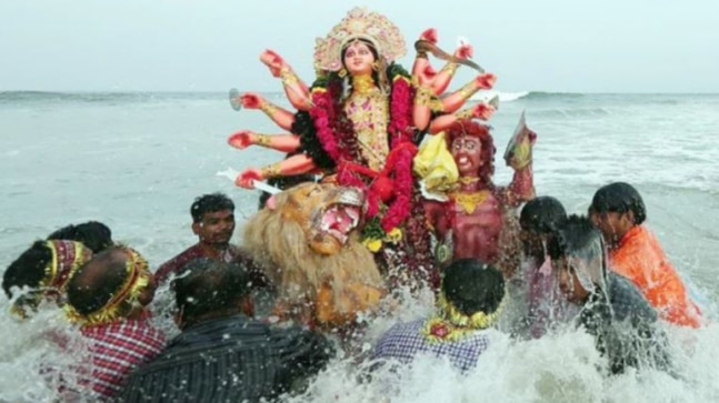 UP: 6 injured in celebratory firing during Durga idol immersion in Gorakhpur, 1 arrested
