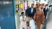 Dutch king, queen visit govt school in Delhi