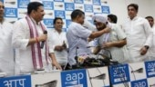 Four-time Congress MLA Parlad Singh Sawhney joins AAP