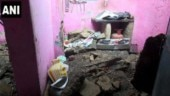 Roof of house collapses due to heavy rains after Northeast monsoon hits Tamil Nadu