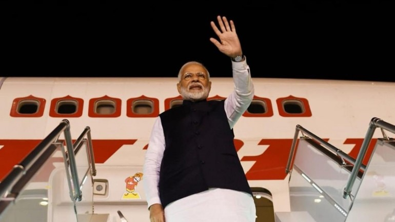 PM Modi leaves for home after concluding visit to Saudi Arabia