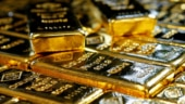 Gold inches down on profit taking, slowdown fears support metal