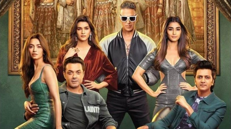 The cast of Housefull 4.
