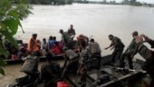 Nagaland flood: Indian army, Assam Rifles personnel rescue stranded villagers in Dimapur
