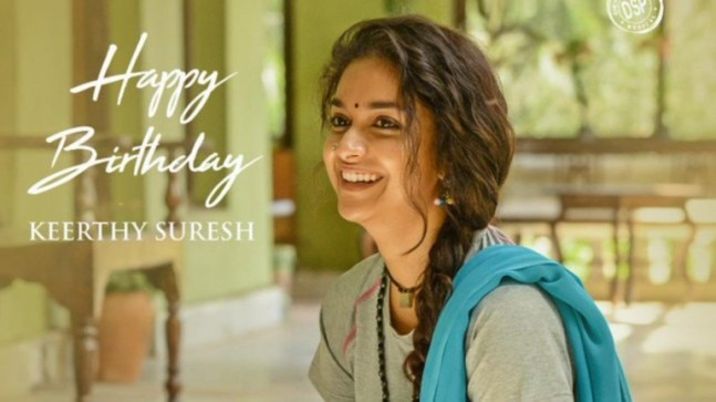 Keerthy Suresh treats fans with first-look of new film with Nagesh Kukunoor on birthday. See viral pic
