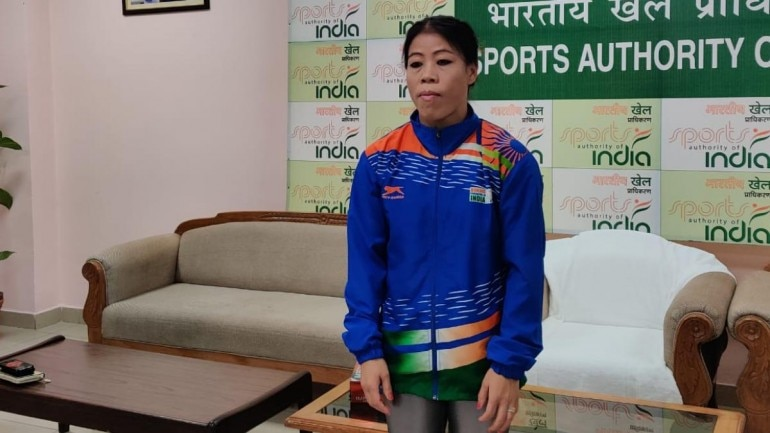 Mary Kom won a bronze medal at the Boxing World Championship in Russia.