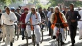 Haryana polls: Khattar, Chautala and tale of 2 cycles and a tractor on polling day