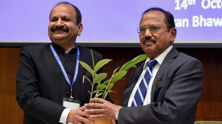 NSA Ajit Doval and NIA Director General Yogesh Chander Modi