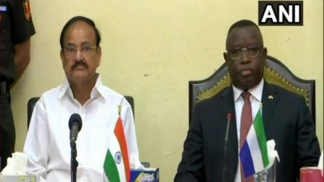 Isolate nations which aid and abet terrorism: Vice President in Sierra Leone