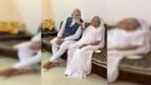 PM Modi reaches Gujarat to celebrate Sardar Patel's 144th birth anniversary, meets mother in Gandhinagar
