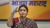 Why did Cong malign India? Smriti Irani asks Rahul on Labour J&K meet