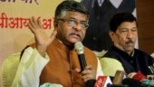 Maharashtra cares for Kashmir: Ravi Shankar Prasad on Congress's Article 370 taunt