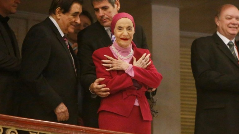 Legendary Cuban ballerina Alicia Alonso dies at 98 Photo: Reuters