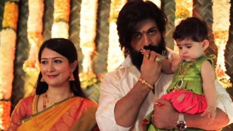 Radhika Pandit on Yash and Baby Ayra