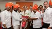 Eknath Shinde elected as leader of Shiv Sena in Maharashtra assembly